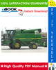 Thumbnail ☆☆ Best ☆☆ John Deere 9410, 9510, 9610 Combines Repair, Diagnostics & Tests Technical Manual