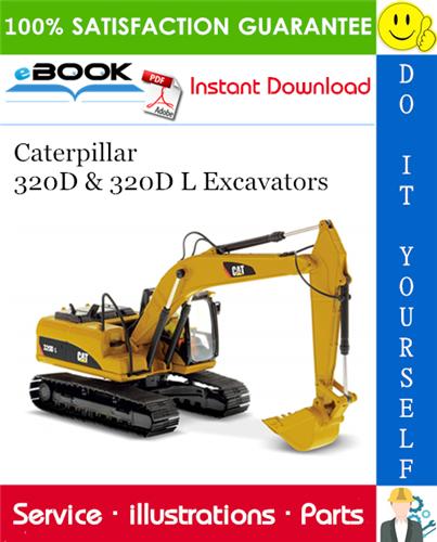 Thumbnail ☆☆ Best ☆☆ Caterpillar 320D & 320D L Excavators Parts Manual