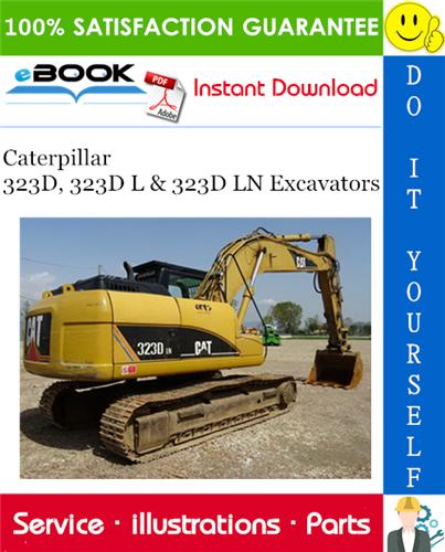 Thumbnail ☆☆ Best ☆☆ Caterpillar 323D, 323D L & 323D LN Excavators Parts Manual