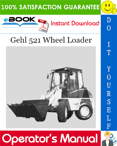 Thumbnail ☆☆ Best ☆☆ Gehl 521 Wheel Loader Operators Manual