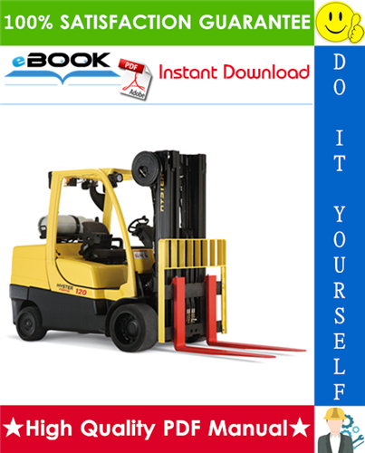 Thumbnail ☆☆ Best ☆☆ Hyster Fortis S80FT, S100FT, S120FT, S80FTBCS, S100FTBCS, S120FTS, S120FTPRS (H004) 4-Wheel Cushion Tire Lift Trucks Service Repair Manual
