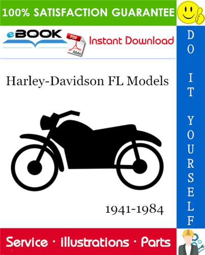 Thumbnail ☆☆ Best ☆☆ Harley-Davidson FL Models Parts Catalog 1941-1984 Download