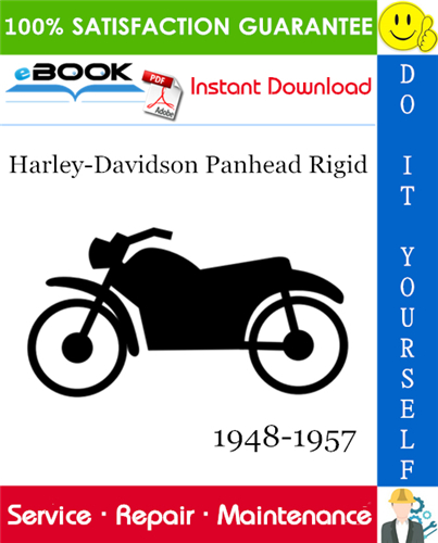 Thumbnail ☆☆ Best ☆☆ Harley-Davidson Panhead Rigid Motorcycle Service Repair Manual 1948-1957 Download