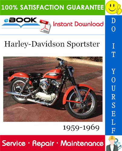 Thumbnail ☆☆ Best ☆☆ Harley-Davidson Sportster Motorcycle Service Repair Manual 1959-1969 Download