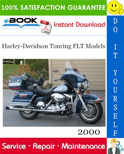 Thumbnail ☆☆ Best ☆☆ 2000 Harley-Davidson Touring FLT Models (FLHT, FLHC, FLHU, FLHR, FLHC, FLTR) Motorcycle Service Repair Manual
