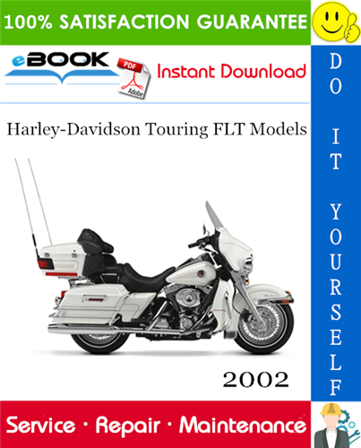 Thumbnail ☆☆ Best ☆☆ 2002 Harley-Davidson Touring FLT Models (FLHT, FLHC, FLHU, FLHR, FLHC, FLTR, FLHRSEI) Motorcycle Service Repair Manual + Electrical Diagnostics Manual