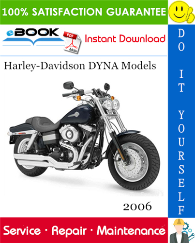 Thumbnail ☆☆ Best ☆☆ 2006 Harley-Davidson DYNA Models (FXD, FXDC, FXDL, FXDWG, FXD35, FXDB) Motorcycle Service Repair Manual