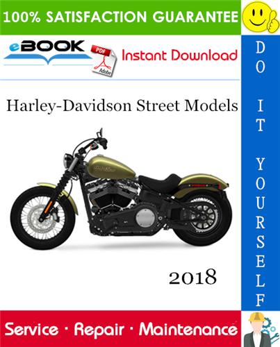 Thumbnail ☆☆ Best ☆☆ 2018 Harley-Davidson Street Models (XG500, XG750, XG750A) Motorcycle Service Repair Manual + Electrical Diagnostic Manual + Wiring and Circuit Diagrams