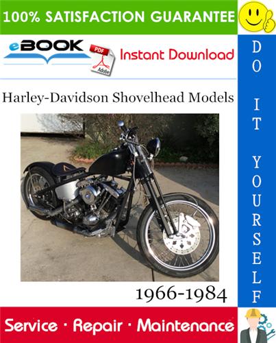Thumbnail ☆☆ Best ☆☆ Harley-Davidson Shovelhead Models Motorcycle Service Repair Manual 1966-1984 Download