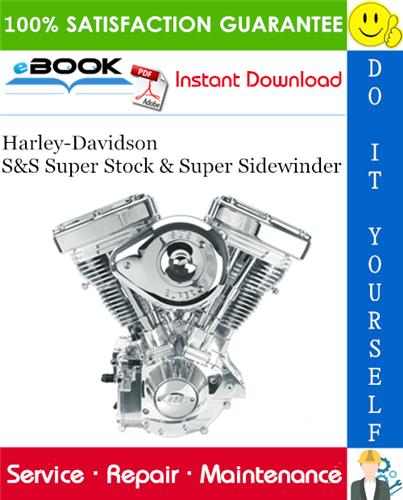 Thumbnail ☆☆ Best ☆☆ Harley-Davidson S&S Super Stock & Super Sidewinder Service Repair Manual
