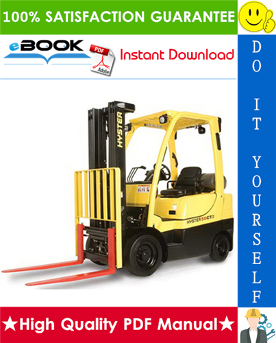Thumbnail ☆☆ Best ☆☆ Hyster H50CT (A274) Lift Trucks Service Repair Manual