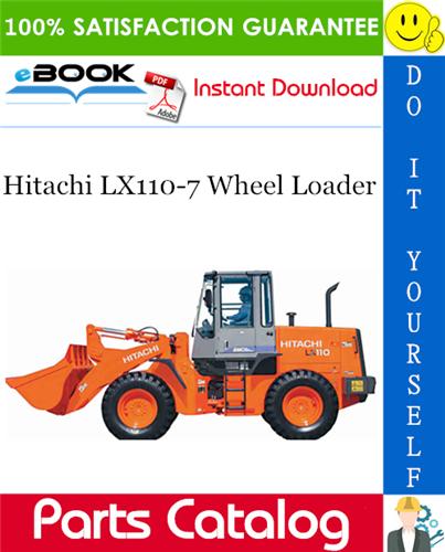Thumbnail ☆☆ Best ☆☆ Hitachi LX110-7 Wheel Loader Parts Catalog