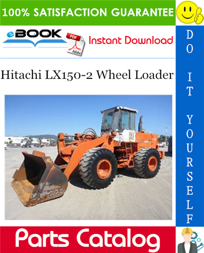 Thumbnail ☆☆ Best ☆☆ Hitachi LX150-2 Wheel Loader Parts Catalog