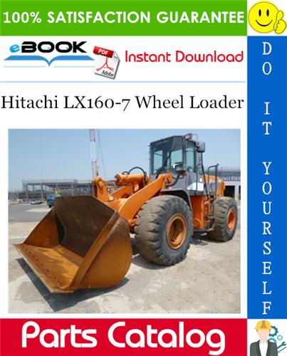 Thumbnail ☆☆ Best ☆☆ Hitachi LX160-7 Wheel Loader Parts Catalog