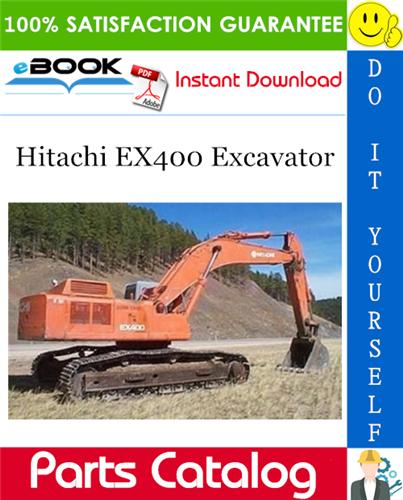 Thumbnail ☆☆ Best ☆☆ Hitachi EX400 Excavator Parts Catalog Manual (Cold District Type B)