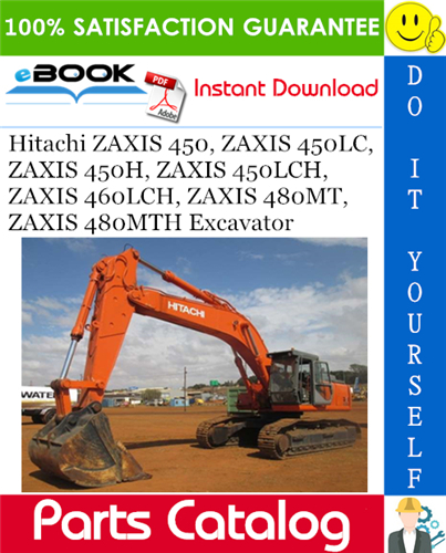 Thumbnail ☆☆ Best ☆☆ Hitachi ZAXIS 450, ZAXIS 450LC, ZAXIS 450H, ZAXIS 450LCH, ZAXIS 460LCH, ZAXIS 480MT, ZAXIS 480MTH Excavator Parts Catalog Manual