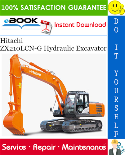 Thumbnail ☆☆ Best ☆☆ Hitachi ZX210LCN-G Hydraulic Excavator Service Repair Manual