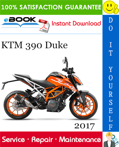 Thumbnail ☆☆ Best ☆☆ 2017 KTM 390 Duke Motorcycle Service Repair Manual