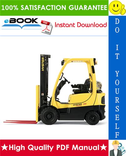 Thumbnail ☆☆ Best ☆☆ Hyster H30H, H40H, H50H, H60H (D003) Forklift Trucks Service Repair Manual