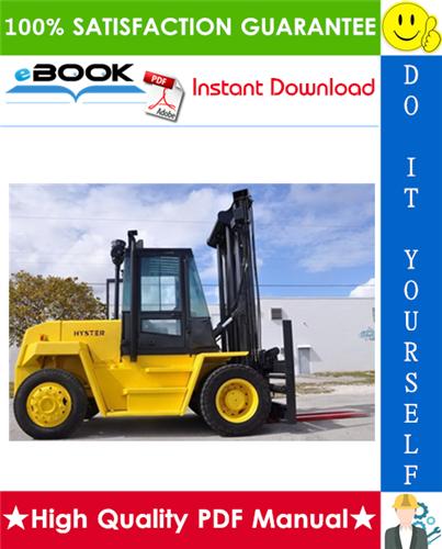 Thumbnail ☆☆ Best ☆☆ Hyster H165XL, H190XL, H210XL, H230XL, H250XL, H280XL (D007) Forklift Trucks Service Repair Manual