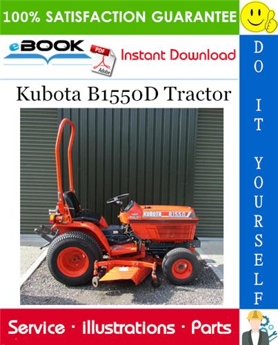 Thumbnail ☆☆ Best ☆☆ Kubota B1550D Tractor Parts Manual