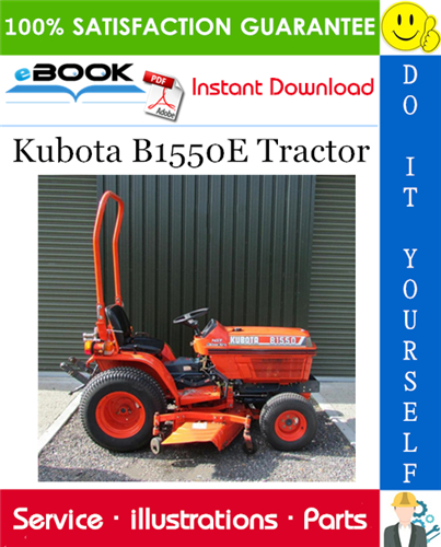Thumbnail ☆☆ Best ☆☆ Kubota B1550E Tractor Parts Manual