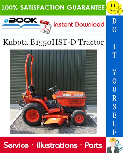Thumbnail ☆☆ Best ☆☆ Kubota B1550HST-D Tractor Parts Manual