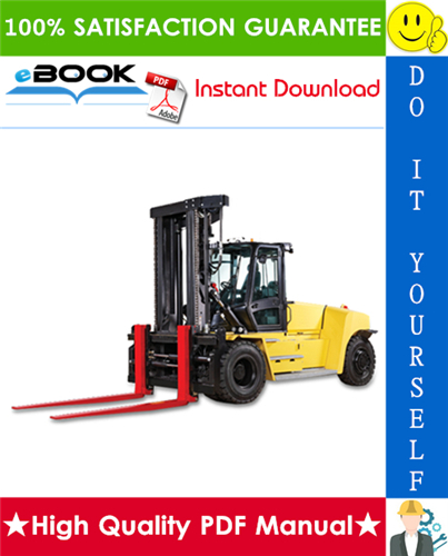 Thumbnail ☆☆ Best ☆☆ Hyster H1050EH, H36.00E, H36.00E-16CH, H40.00E, H40.00E-16CH, H44.00E, H44.00E-16CH, H48.00E, H48.00E-16CH, H800E, H880E, H970E (D117) Forklift Trucks Service Ma
