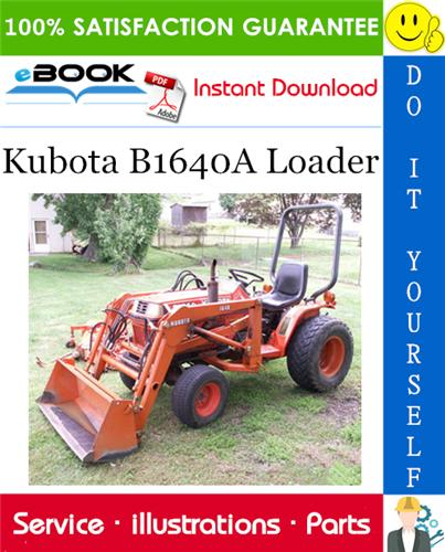 Thumbnail ☆☆ Best ☆☆ Kubota B1640A Loader Parts Manual
