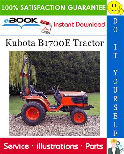 Thumbnail ☆☆ Best ☆☆ Kubota B1700E Tractor Parts Manual