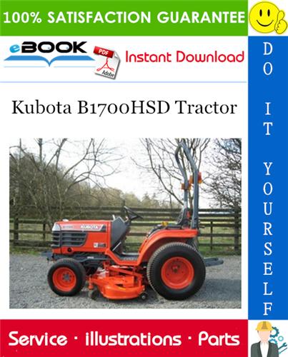 Thumbnail ☆☆ Best ☆☆ Kubota B1700HSD Tractor Parts Manual