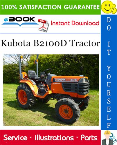Thumbnail ☆☆ Best ☆☆ Kubota B2100D Tractor Parts Manual
