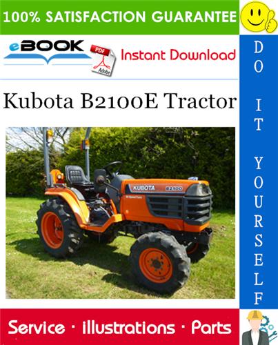 Thumbnail ☆☆ Best ☆☆ Kubota B2100E Tractor Parts Manual