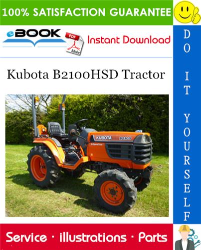 Thumbnail ☆☆ Best ☆☆ Kubota B2100HSD Tractor Parts Manual
