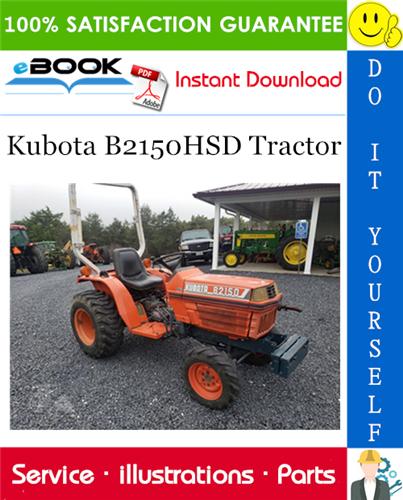 Thumbnail ☆☆ Best ☆☆ Kubota B2150HSD Tractor Parts Manual
