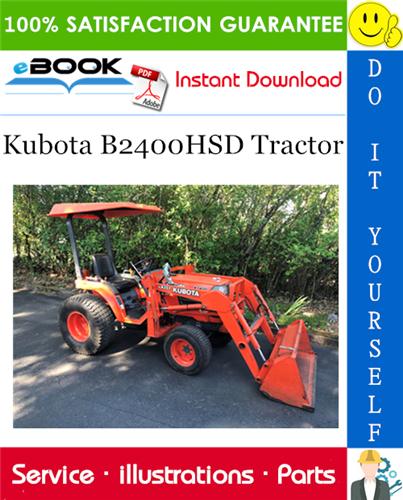 Thumbnail ☆☆ Best ☆☆ Kubota B2400HSD Tractor Parts Manual