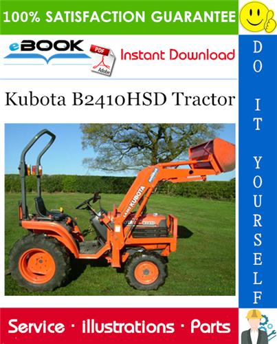 Thumbnail ☆☆ Best ☆☆ Kubota B2410HSD Tractor Parts Manual