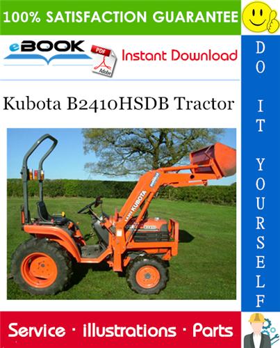Thumbnail ☆☆ Best ☆☆ Kubota B2410HSDB Tractor Parts Manual