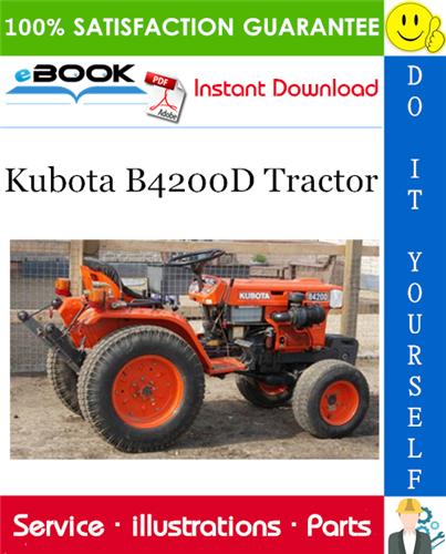 Thumbnail ☆☆ Best ☆☆ Kubota B4200D Tractor Parts Manual