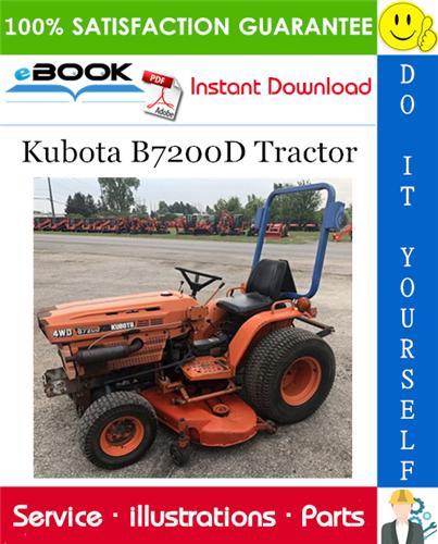 Thumbnail ☆☆ Best ☆☆ Kubota B7200D Tractor Parts Manual