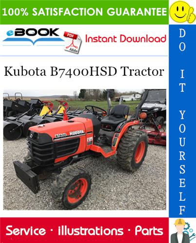 Thumbnail ☆☆ Best ☆☆ Kubota B7400HSD Tractor Parts Manual