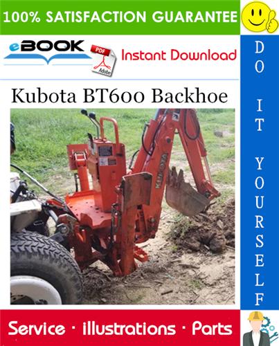 Thumbnail ☆☆ Best ☆☆ Kubota BT600 Backhoe Parts Manual