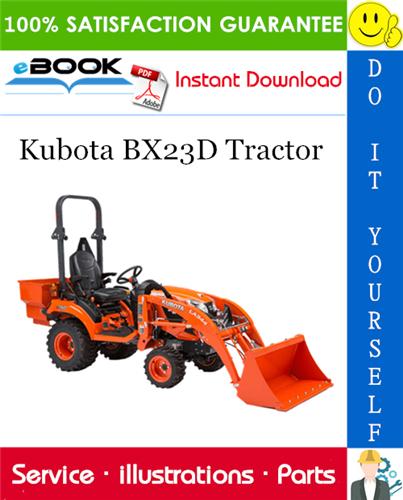 Thumbnail ☆☆ Best ☆☆ Kubota BX23D Tractor Parts Manual