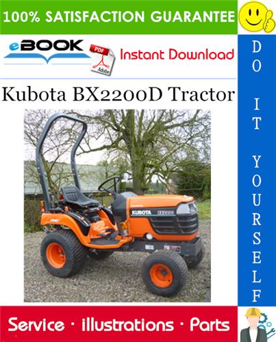 Thumbnail ☆☆ Best ☆☆ Kubota BX2200D Tractor Parts Manual