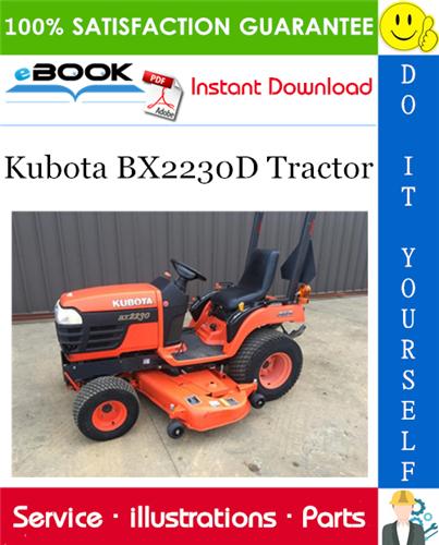 Thumbnail ☆☆ Best ☆☆ Kubota BX2230D Tractor Parts Manual