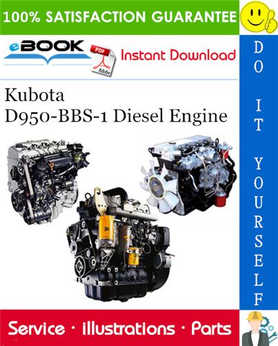 Thumbnail ☆☆ Best ☆☆ Kubota D950-BBS-1 Diesel Engine Parts Manual