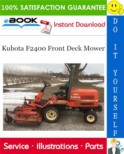 Thumbnail ☆☆ Best ☆☆ Kubota F2400 Front Deck Mower Parts Manual