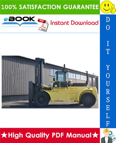 Thumbnail ☆☆ Best ☆☆ Hyster H440F, H440FS, H550F, H550FS, H620F, H620FS, H650F, H700F, H700FS (E008) High-Capacity Forklift Trucks Service Repair Manual