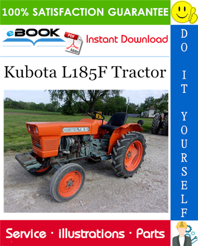 Thumbnail ☆☆ Best ☆☆ Kubota L185F Tractor Parts Manual