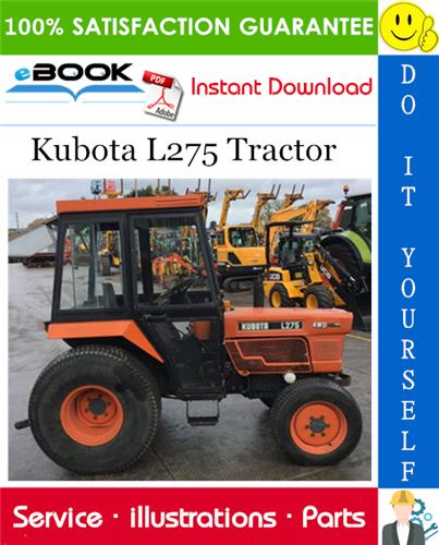 Thumbnail ☆☆ Best ☆☆ Kubota L275 Tractor Parts Manual